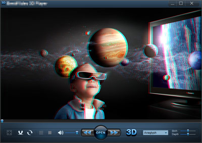 Free 3D Video Player - Watch 2D movies in 3D