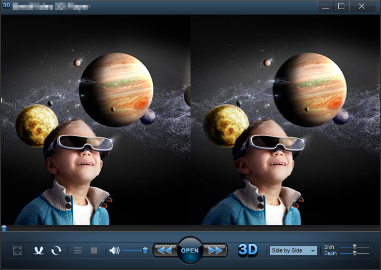 IQmango 3D Video Player screenshot