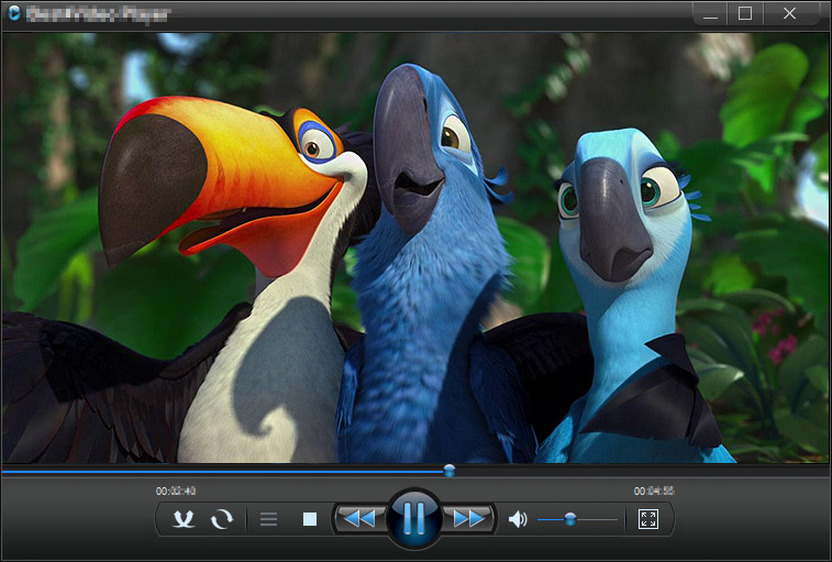 Screenshot of IQmango Media Player 3.4.5